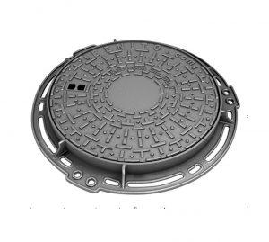 Nắp hố ga thân tròn – khung âm