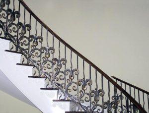 Cầu thang gang – nhôm đúc