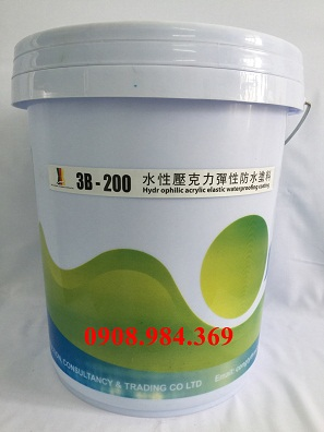 Dung dịch chống thấm đàn hồi 3B-200