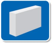 Gạch bê tông khí chưng áp 600x150x400mm