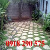Gạch block lát bờ kè, sân vườn hình lục giác