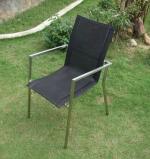 Ghế inox đen
