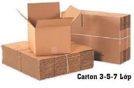Giấy Carton 3-5-7 lớp