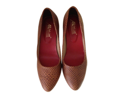 Giày da rắn nữ