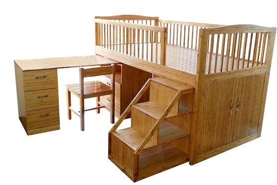 Giường tầng trẻ em tre