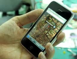 GPS điện thoại di động