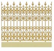 Hàng rào hợp kim nhôm F002