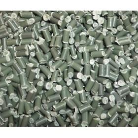 Hạt nhựa tái sinh PP màu xanh