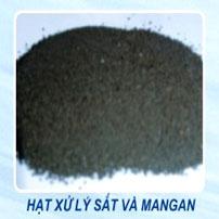 Hạt xử lý sắt và mangan
