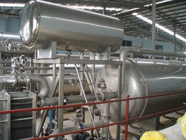 Hệ thống bồn công nghiệp
