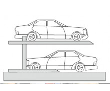 Hệ thống đỗ xe 2 tầng loại nhỏ