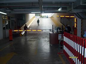 Hệ thống kiểm soát của ra vào bãi đỗ xe