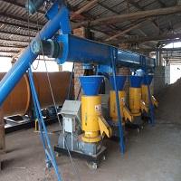 Hệ thống máy ép than bằng mùn cưa