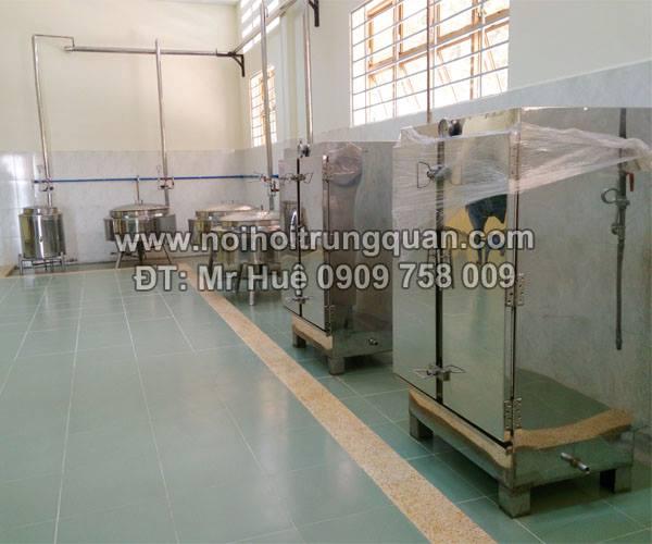 Hệ thống máy lên men sản xuất tỏi đen