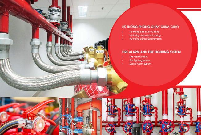 Hệ thống phòng cháy chữa cháy Vân Khánh