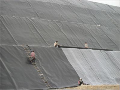 Hệ thống thu khí gas bãi chôn lấp