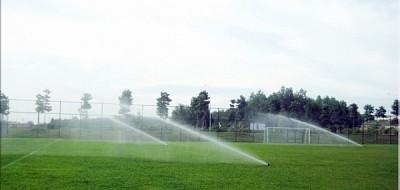 Hệ thống tưới tự động sân cỏ
