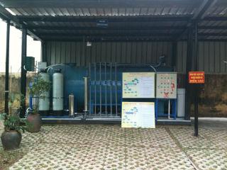 Hệ thống xử lý nước thải mực in