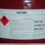 Hoá chất tẩy sơn acetone