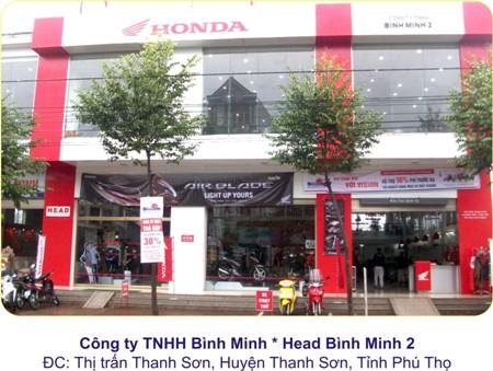 Honda Phú Thọ
