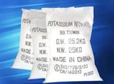 Kali nitrate (potassium nitrate)