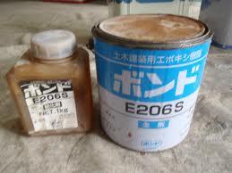 Keo Epoxy E206 dùng bơm vào khe nứt bê tông