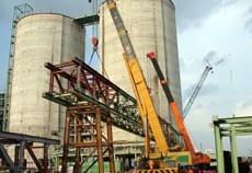 Kết cấu thép trạm nghiền nhà máy xi măng