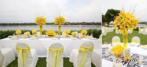 Khăn trải bàn tiệc cưới