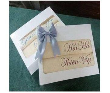 Khăn quà tặng đám cưới