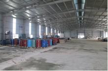 Kho hệ thống xử lý chất thải sau xử lý