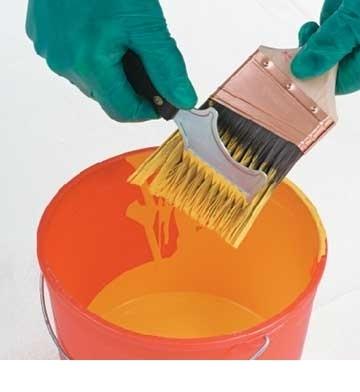 Lăn sơn, quét vôi, xử lý silicon
