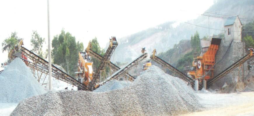 Lắp đặt máy nghiền đá