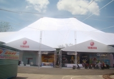Lều bạt hội chợ
