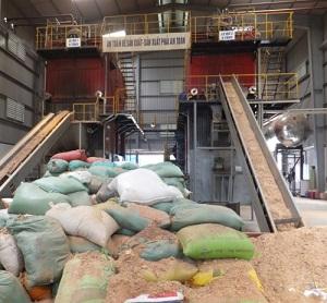 Lò hơi tầng sôi biomas