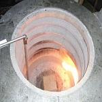 Lò nấu nhôm bằng gas