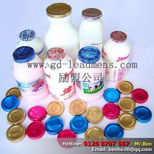 Màng, nắp nhôm dùng cho ngành sữa