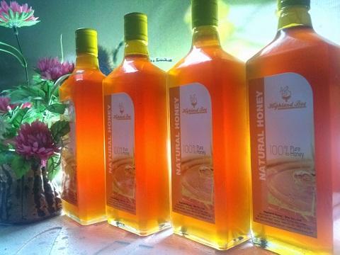 Mật ong Highland Bee 750 ml