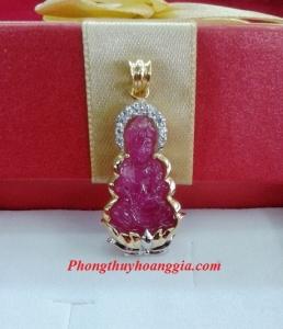 Mặt Phật bà Quan âm trang sức