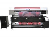 Máy in vải hiệu Xuli sử dụng 2 chiếc đầu phun DX5