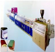 Máy làm cửa nhựa, tấm ốp trần nhựa YF –PVC