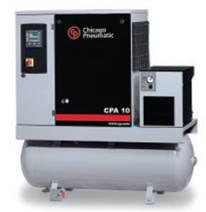 Máy nén khí tích hợp bình chứa khí và máy sấy