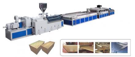 Máy sản xuất cửa nhựa, gỗ