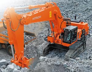 Máy xúc đào Hitachi