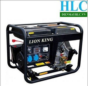 Máy phát điện chạy dầu Lion King