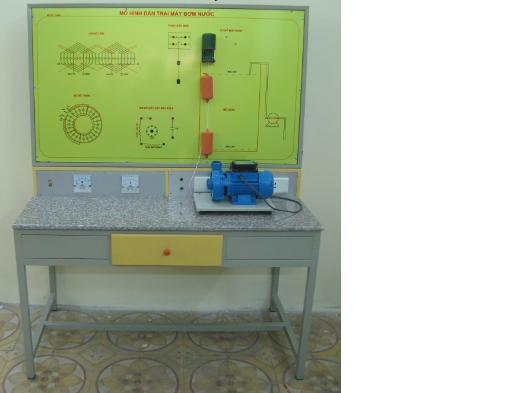 Mo hình thiết bị dạy nghề