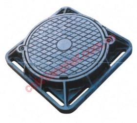 Nắp hố ga, nắp bể ga, nắp bể cáp (manhole cover, round lid)