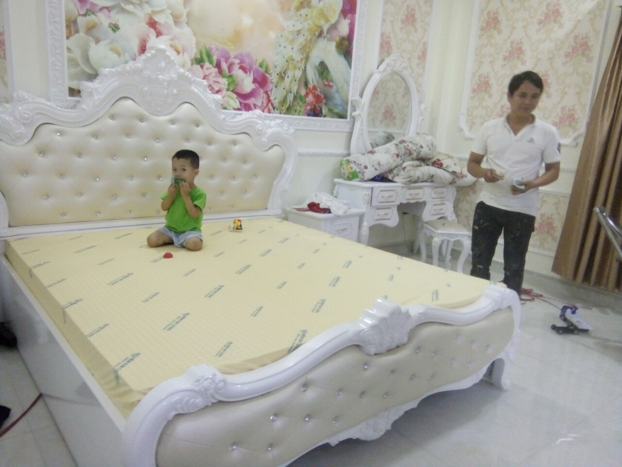 Nệm Cao Su KIm Cương an toàn sức khỏe