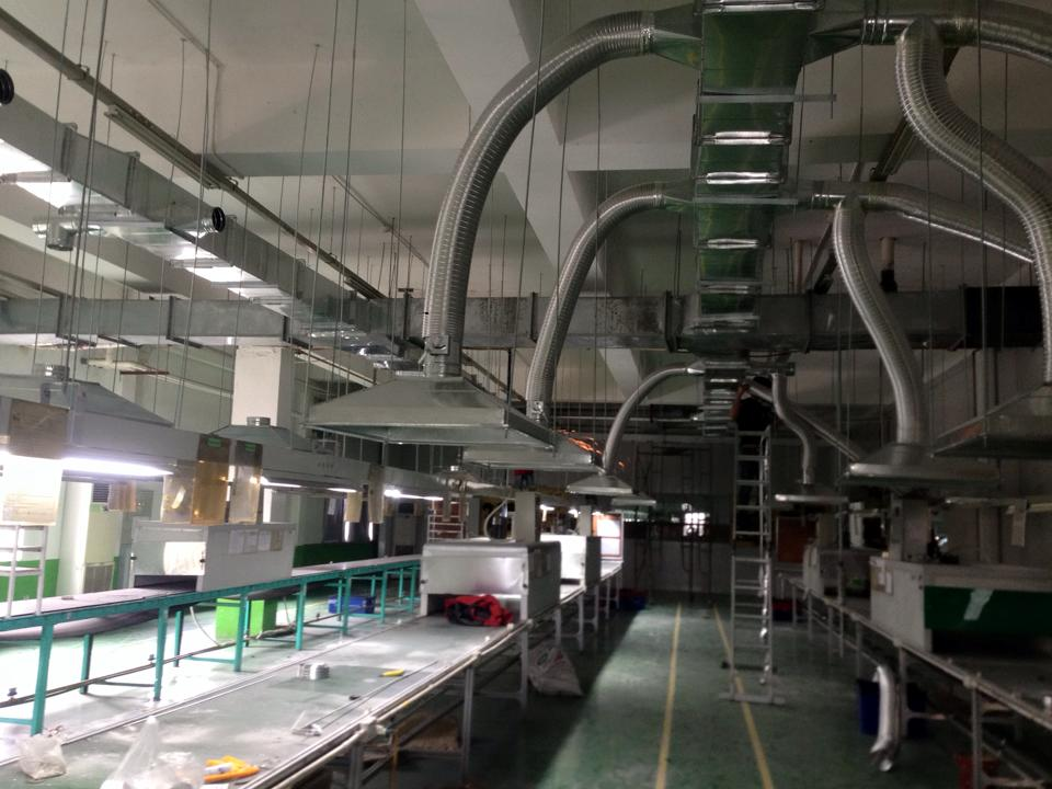 Hệ thống thông gió nhà xưởng