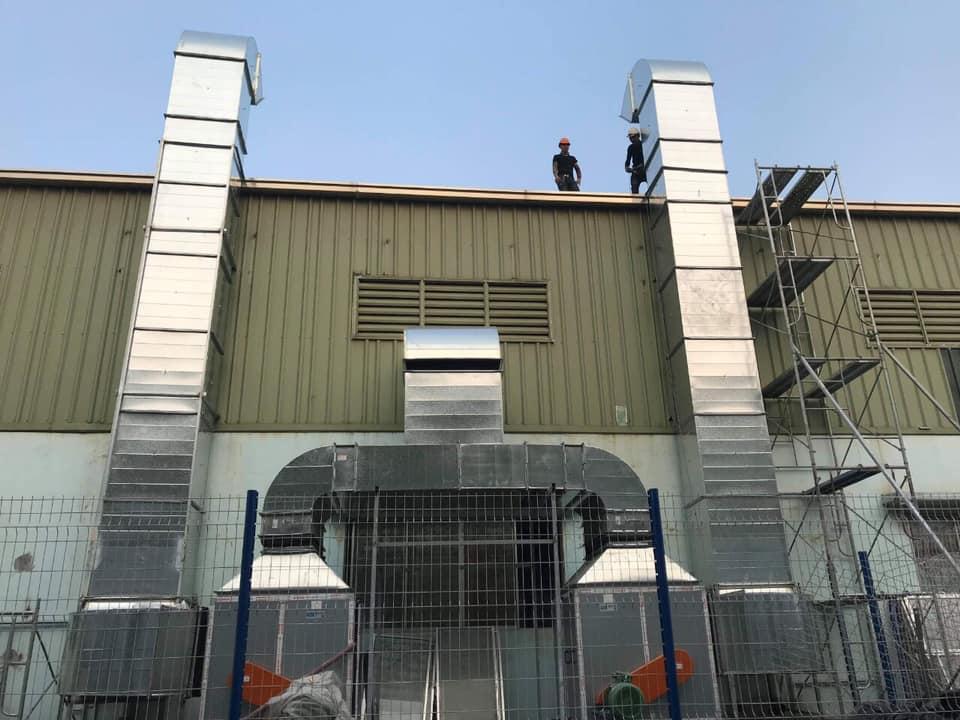 Thông gió điều hoà nhà xưởng