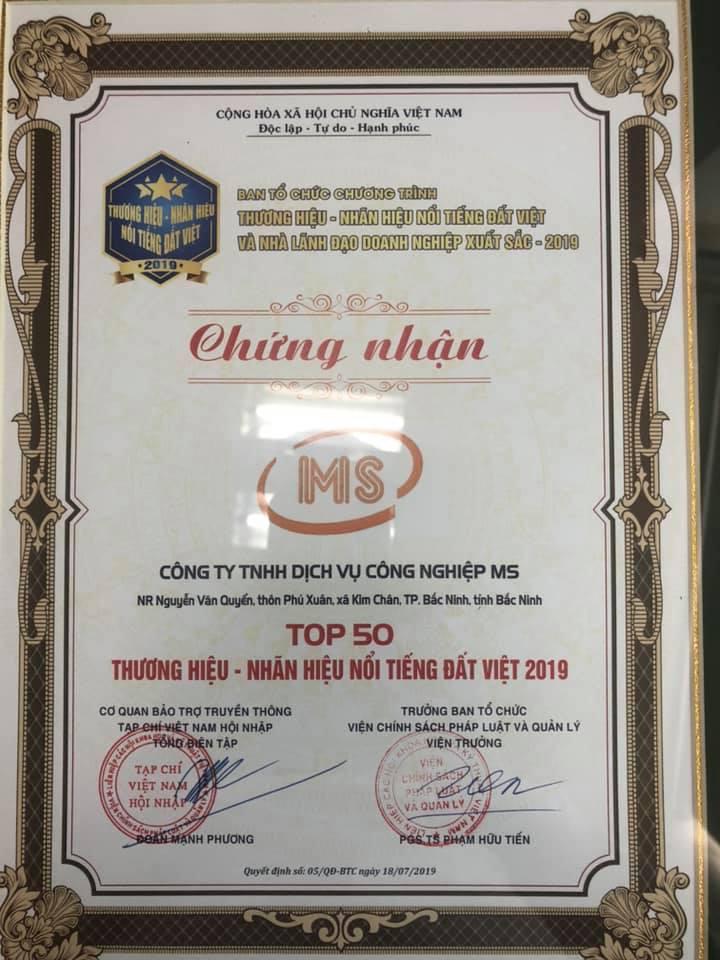 Top 50 thương hiệu Việt